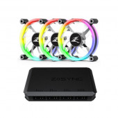 Zalman ZM-LF120A3 Case fan, Z-sync 120mm ARGB 3-Pack