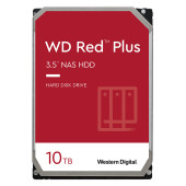 HDD NAS WD Red Plus (3.5'', 10TB, 256MB, 7200 RPM, SATA 6 Gb/s)