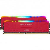 RAM DDR4 32GB Kit (2x16) PC4-28800 3600MT/s CL16 1.35V Crucial Ballistix Red RGB
