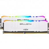 RAM DDR4 32GB Kit (2x16) PC4-25600 3200MT/s CL16 1.35V Crucial BX White RGB