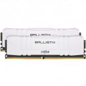 RAM DDR4 32GB Kit (2x16) PC4-25600 3200MT/s CL16 1.35V Crucial Ballistix White