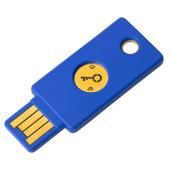 Varnostni ključ Yubico Security Key FIDO2 U2F, USB-A, NFC, moder