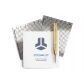 BitBox SteelWallet, za varnostno kopijo, 2 ploščici