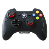 2.4G Wireless  Controller with Dual Motor, Rubber coating,    2PCS AA Alkaline battery   ,support  P