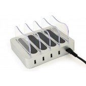 Gembird 4-port USB charging station, 4.1 A