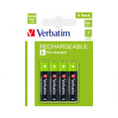 Verbatim AAA punjive baterije, 950mAh (4 komada)