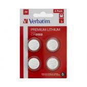 Verbatim CR2032 Lithium baterija, 3V (4 kom./pakiranje)