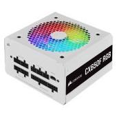 Corsair PSU CX750F 750W modular RGB 80+ Bronze 120mm, RGB Led, White