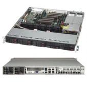 Supermicro Server Chassis CSE-113MFAC2-R804CB, 1U, MB ATX 12x10, 8x2.5 Hot-swap SAS3/SAS2/SATA Hybri