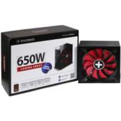 Xilence 650W Gaming, ATX 2.4 80+ BRONZE, aktivan PFC, modularno, 2×PCIe, 6×SATA, 20+4-pina, 140mm ventilator, crno