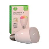 WOOX WiFi Smart LED RGB+CCT žarulja E27, 6W, 500lm, 2700K-6500K dimabilna, WooxHome app, glasovna kontrola - Alexa & Goo
