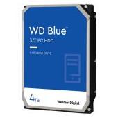 HDD Desktop WD Blue (3.5'', 4TB, 256MB, 5400 RPM, SATA 6 Gb/s)
