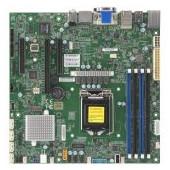 Supermicro main board server MBD-X11SCZ-F-O 3 years warranty, single socket, 4.1 PCI-E 3.0 x16, 2 PC