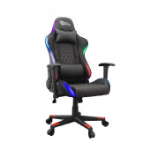 WHITE SHARK RGB gaming stolica THUNDERBOLT crna