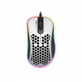 Miš UVI LUST, RGB, 16.000 DPI, bijeli