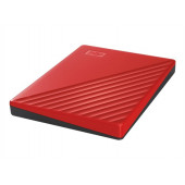 WD My Passport 2TB portable HDD Red