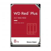 Western Digital HDD, 8TB, 7200, WD Red Plus
