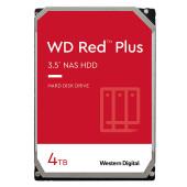 HDD NAS WD Red Plus (3.5'', 4TB, 128MB, 5400 RPM, SATA 6 Gb/s)