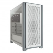 Corsair 4000D AIRFLOW Tempered Glass Mid-Tower ATX Case White