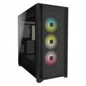Corsair iCUE 5000X RGB Tempered Glass Mid-Tower ATX PC Smart Case