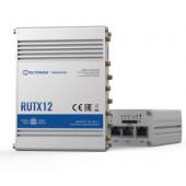 Teltonika RUTX12DUAL LTE CAT 6 industrial cellular router