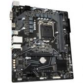 GIGABYTE Mainboard Desktop H510 (S1200, 2xDDR4, HDMI, VGA, 1xPCIex16, 2xPCIex1, ALC887, Realtek GbE