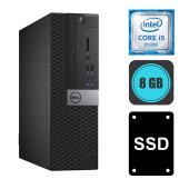 Dell Optiplex 5050 i5-7500, 8GB DDR4, 240GB SSD, WinPro