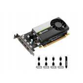 Quadro T1000, 4GB GDDR6, PCIe 3.0 x16, 4x mDP-DP, Low Profile, PNY