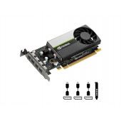 Quadro T600, 4GB GDDR6, PCIe 3.0 x16, 3x mDP-DP, Low Profile, PNY