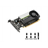Quadro T400, 2GB GDDR6, PCIe 3.0 x16, 3x mDP-DP, Low Profile, PNY