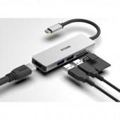 D-Link DUB-M530 5-u-1 USB-C Hub sa HDMI i SD/microSD čitačem kartica