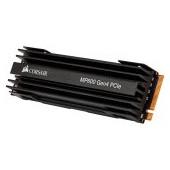 CORSAIR Force MP600 2TB SSD, M.2 2280, PCIe Gen4 x4, Read/Write: 4950/4250 MB/s, IOPS: 680K/600K