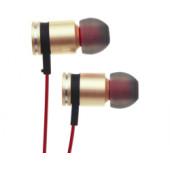 Verbatim High Performance In-ear slušalice sa mikrofonom, zlatne