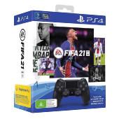 Sony DualShock 4 kontroler + FIFA 21 (Playstation 4)