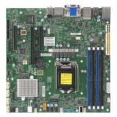 Supermicro mainboard sever MBD-X12SCZ-F-O, E-2200 Processor, Intel C246 controller for 5 SATA3 (6 Gb