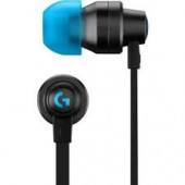 LOGITECH G333 Gaming Earphones - BLACK - 3.5 MM - EMEA