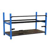 Miner frame Akyga AKM082 8GPU black/blue w/o PSU