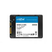 """SSD 2TB 2.5"""" SATA3 3D TLC, 7mm, CRUCIAL BX500"""