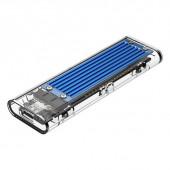Kućište za SSD M.2 NVMe 2230-2280 v USB 3.1 Gen2 Type-C, modro, ORICO TCM2