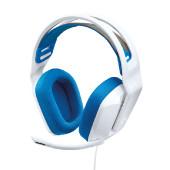 Logitech G335 gaming slušalice s mikrofonom, bijel
