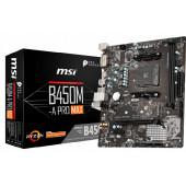 MSI B450M-A PRO MAX, AM4, DDR4, U3, m.2, mATX