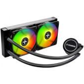 Xilence LiQuRizer LQ240RGB vodeno hlađenje za procesore Intel/AMD Multi socket, RGB 2×120mm ventilator