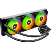 Xilence LiQuRizer LQ360.ARGB vodeno hlađenje za procesore Intel/AMD Multi socket, RGB 3×120mm ventilator + kontroler/spl