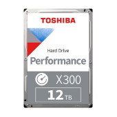 HDD Desktop Toshiba X300 (3.5'' 12TB, 7200RPM, 256MB, SATA 6Gb/s), bulk