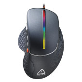 Wired High-end Gaming Mouse with 6 programmable buttons, sunplus optical sensor, 6 levels of DPI and