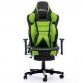 Gaming chair Bytezone HULK, massage cushion (black-green)