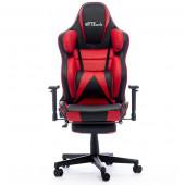 Gaming chair Bytezone HULK, massage cushion (black-red)