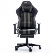 Gaming chair Bytezone PYTHON, massage cushion / Bluetooth speakers (black-gray)