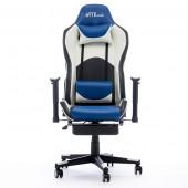 Gaming chair Bytezone DOLCE, massage cushion (black-blue)