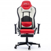 Gaming chair Bytezone DOLCE, massage cushion (black-red)